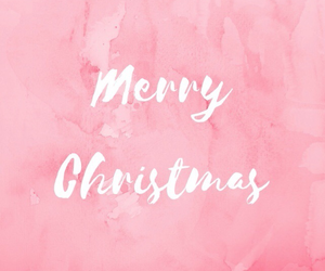 christmas and pink image