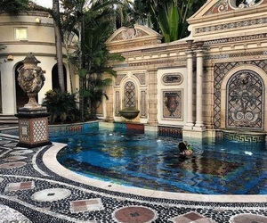 pool, summer, and architecture image