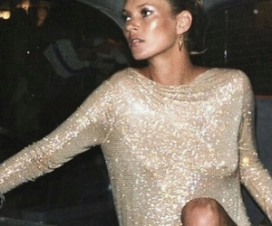 model, girl, and dress image