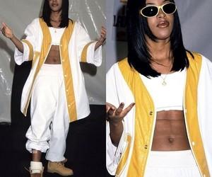 80's, aaliyah, and rip image