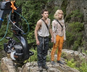 tom holland, chaos walking, and daisy ridley image