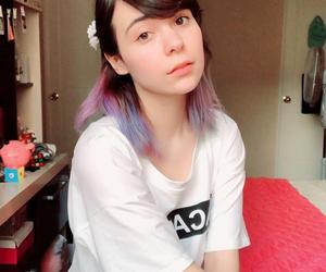 eyes, kawaii, and kpop image
