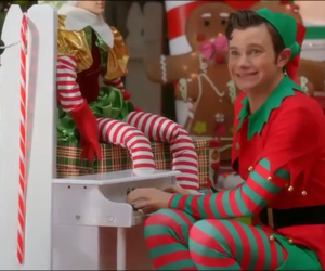 christmas, newyork, and glee image
