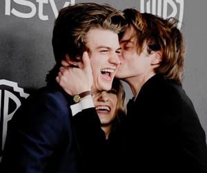stranger things, charlie heaton, and joe keery image