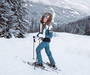 fashion, holidays, and winter sports image