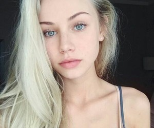girl, beauty, and scarlett leithold image
