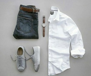 casual, men, and outfit image