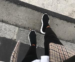 Balenciaga, black, and Hot image