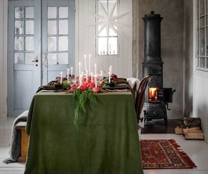 christmas, interior decor, and sweden image