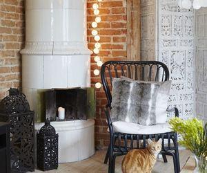 fireplace, interior decor, and scandinavian style image