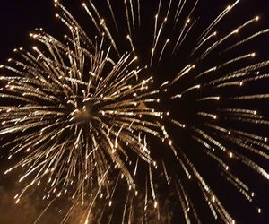 christmas, fireworks, and italy image