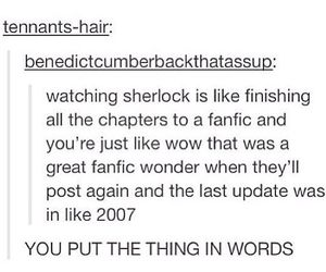 bbc, fandom, and fanfiction image