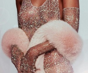 clothes, glitter, and gold image