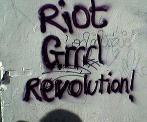 revolution and riot grrrl image