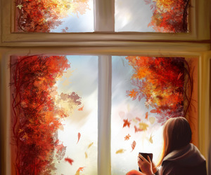 autumn and tea image