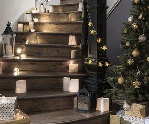 christmas, house, and interior image