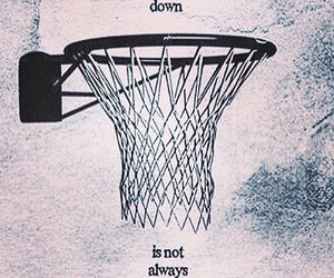 Basketball, quotes, and falling image