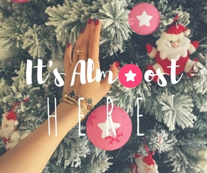 almost, christmas, and heart image