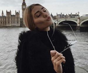 girl, fashion, and london image