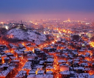 plovdiv, winter, and bulgaria image