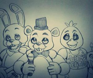 awesome, foxy, and Freddy image