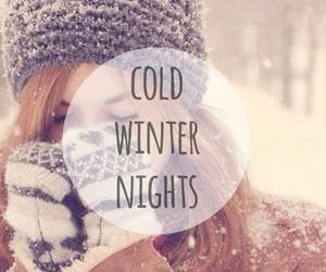 winter, cold, and night image