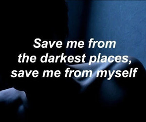 grunge, quotes, and dark image