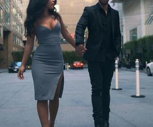 couple, goals, and dress image