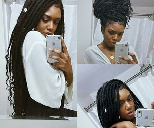 locs and faux lucs image