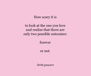 couple, forever, and love quote image