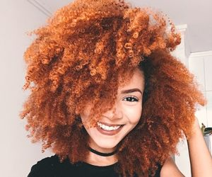 curls, curly, and redhead image