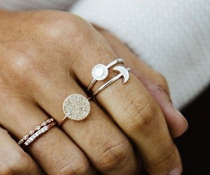 rings, accessories, and beauty image