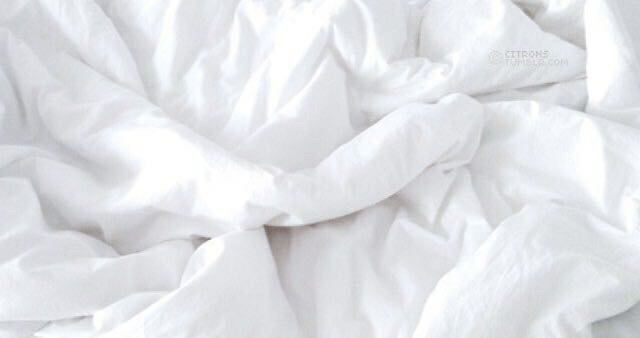 white, bed, and sleep image