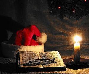candle, childhood, and christmas image