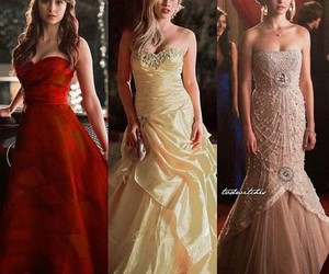 dress, Nina Dobrev, and caroline image