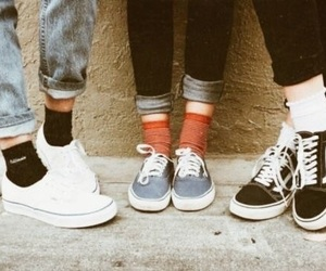 shoes, 90s, and 80s image