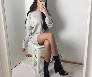outfit, sexy, and everyday fashion image