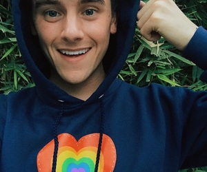 boy, youtube, and connor franta image