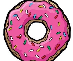 donuts, fofo, and rosa image