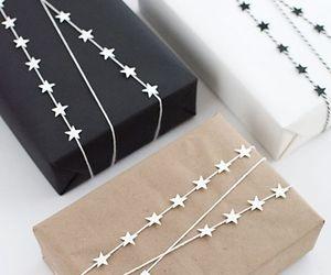 gift, stars, and christmas image