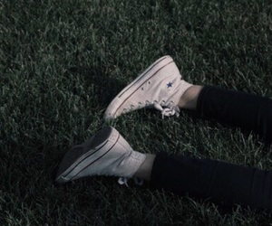 converse, green, and theme image
