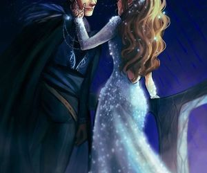 feyre, rhysand, and acotar image