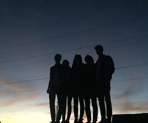 grunge, friends, and youth image