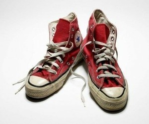 aesthetic, red, and shoes image