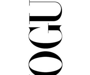 vogue, black and white, and magazine image
