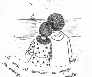 amor, frases, and te necesito image