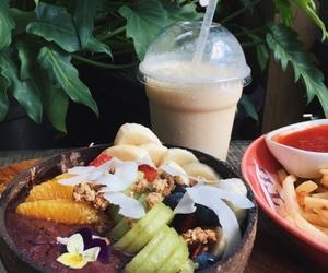acai, bananas, and cafe image