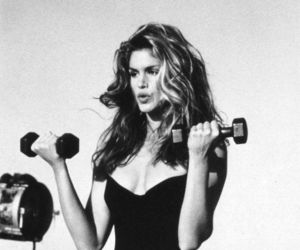 model, cindy crawford, and beauty image