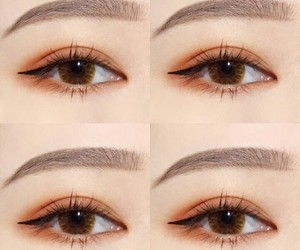 asian, brown, and eyebrows image
