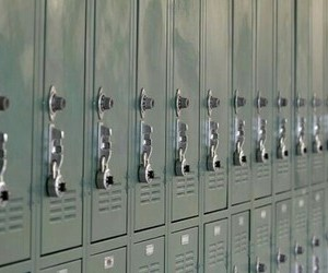 theme, lockers, and aesthetic image